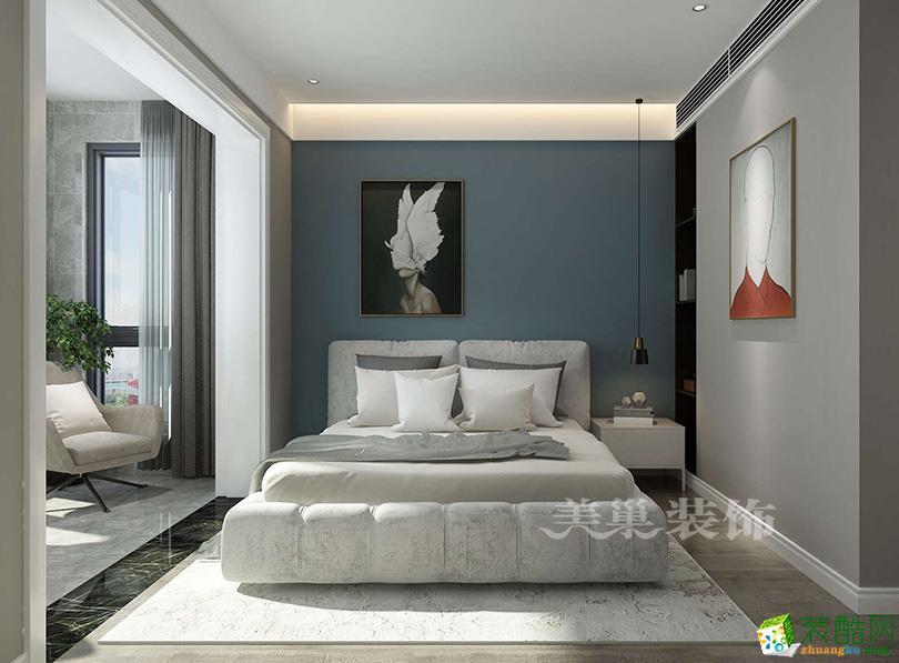 廟李家園135平方三室兩廳現代簡約案例裝修效果圖