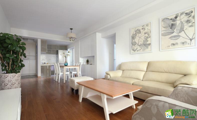 南陽99平3室現代風格裝修效果圖-南陽鳴仁匯裝飾