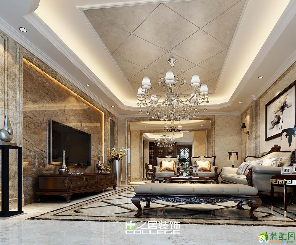庞大领航别墅简欧风格家居设计装修案例