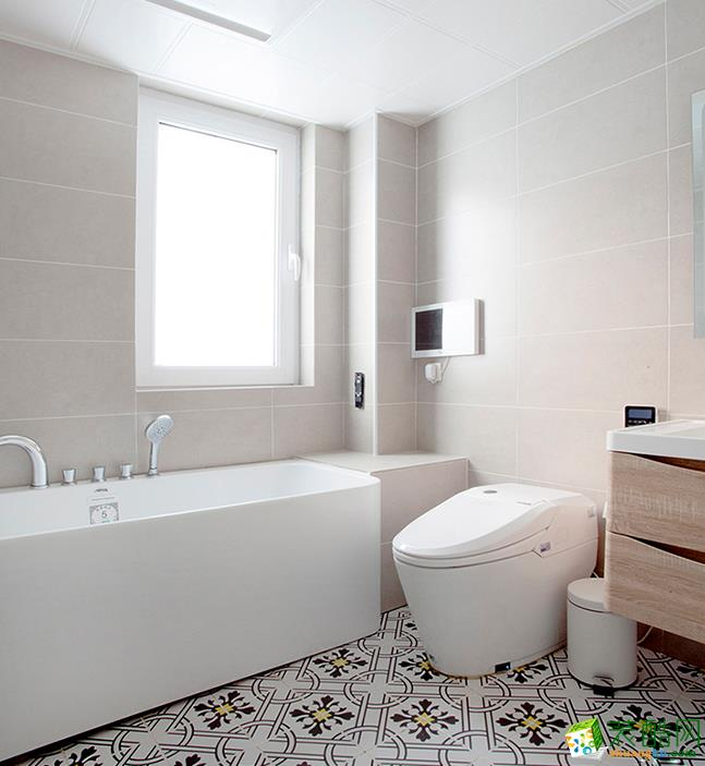无锡110平米北欧风格两室装修效果图