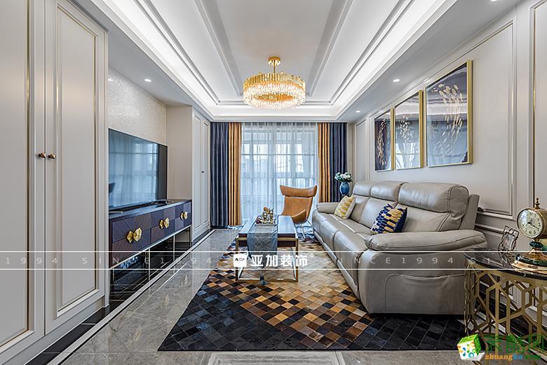 杭州雅居乐 134方 现代轻奢四室两厅效果图