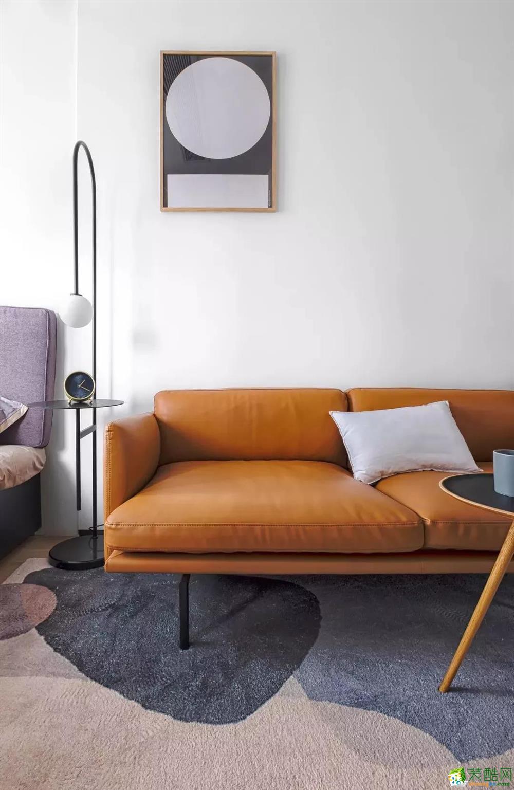 56平公寓北欧风格装修案例效果图
