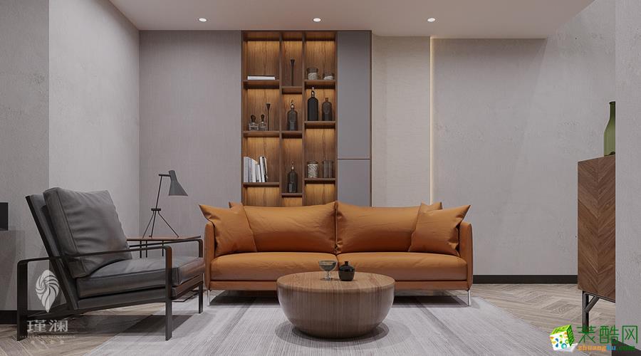 上海500㎡公寓软装定制案例效果图