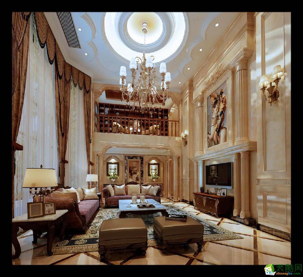 佛山150平米欧式豪华四居室装修效果图