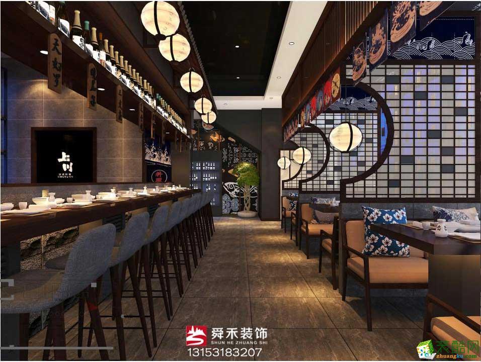 日料理店装修设计-淄博餐厅装修设计公司