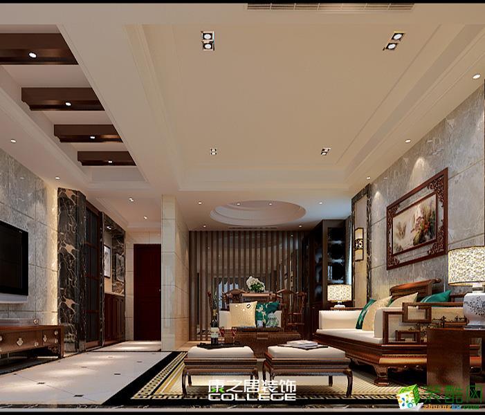 中鼎珑园现代中式风格装修设计案例