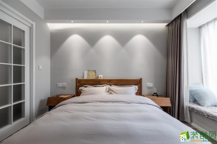 荣昌墨本装饰-143平米四居室现代风格装修案例图