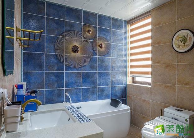 呼和浩特120平米简美四居室装修效果图