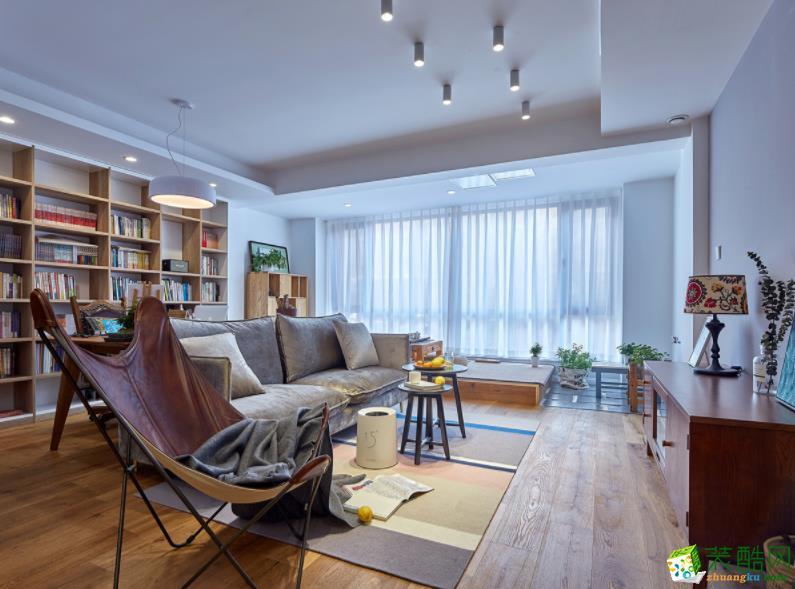 都匀108平米3室北欧风格装修效果图-都匀山石空间装饰