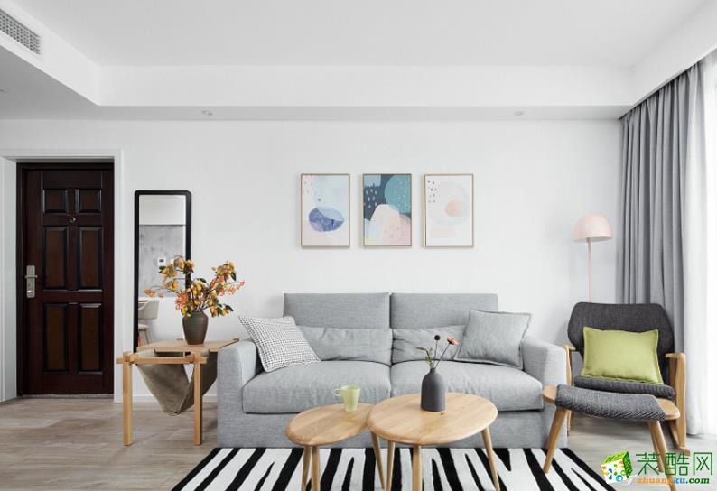 都匀100平米3室现代风格装修效果图-都匀山石空间装饰