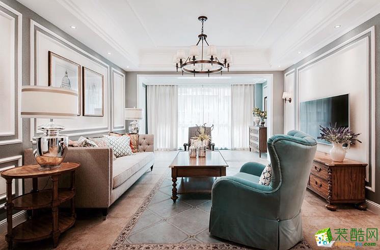 六安远大雍景台107平米3室北欧风格装修效果图-家多多装饰