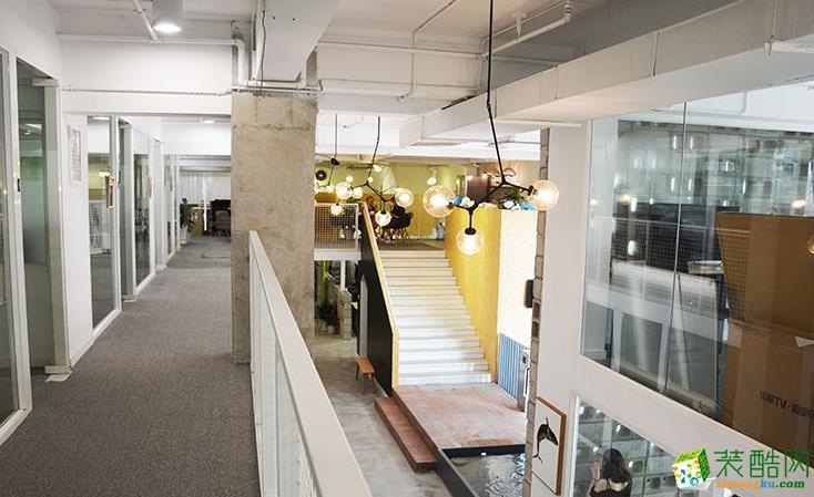 辦公室400平米混搭風格裝修案例圖