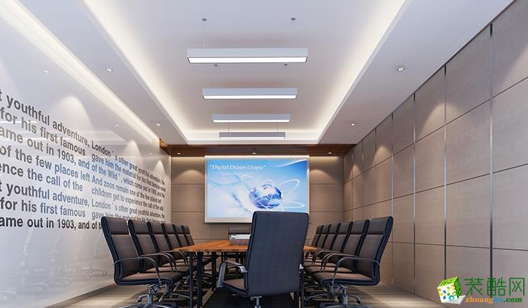500平米现代风格办公室装修案例图