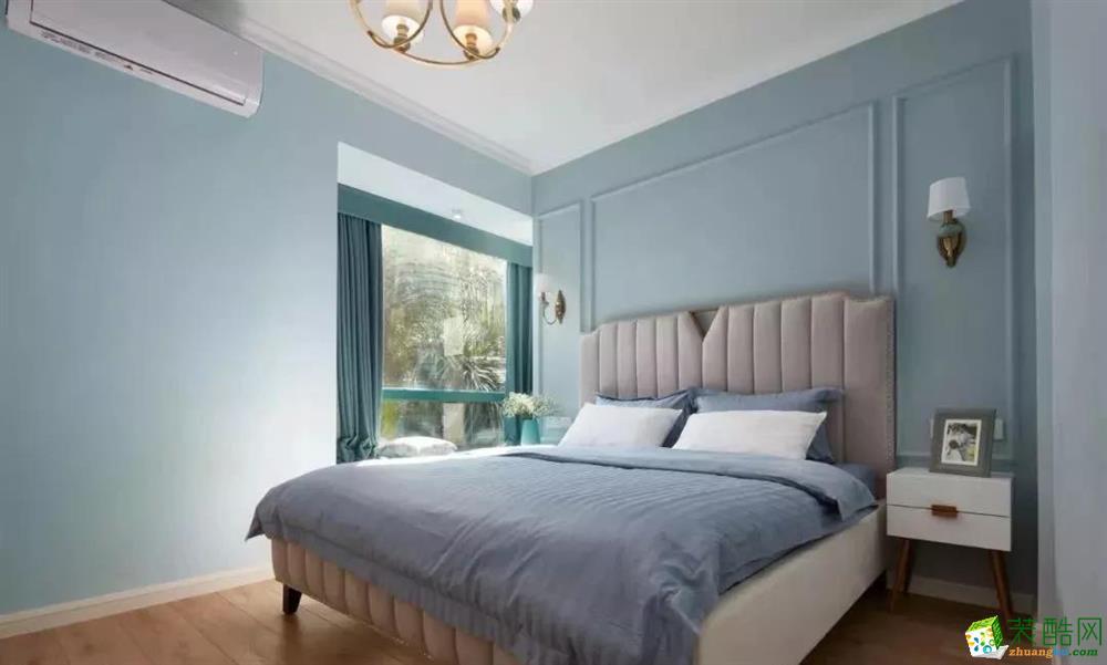 天津75㎡美式二室裝修效果圖片
