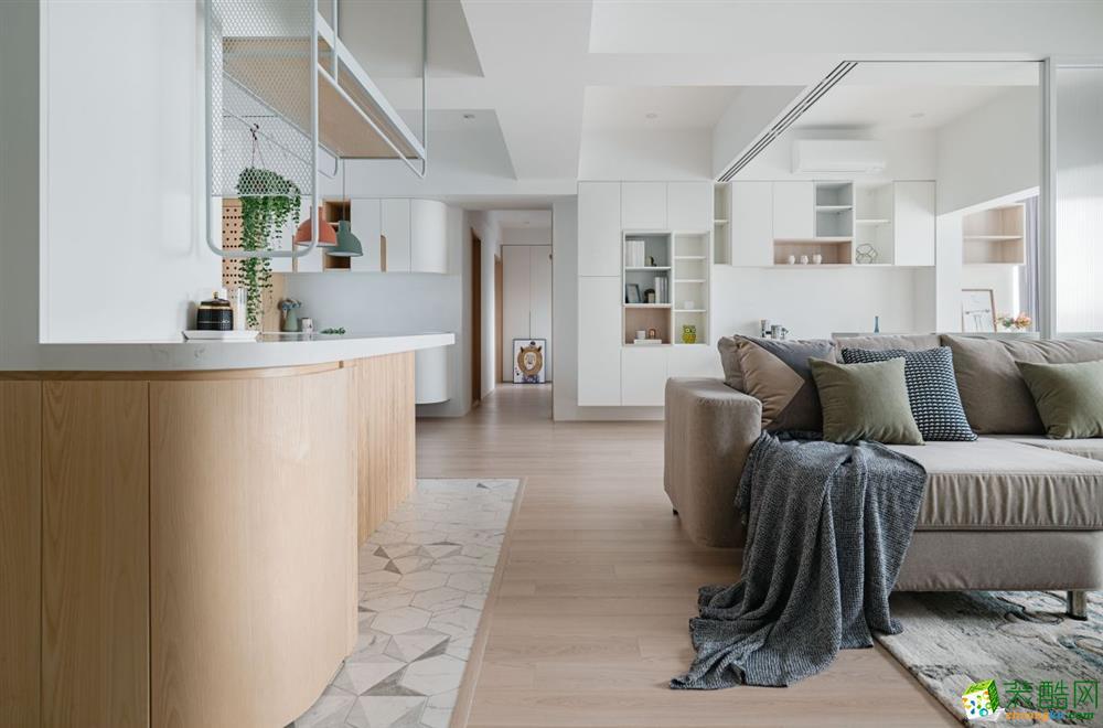 35平米小户型活泼感的北欧风私宅