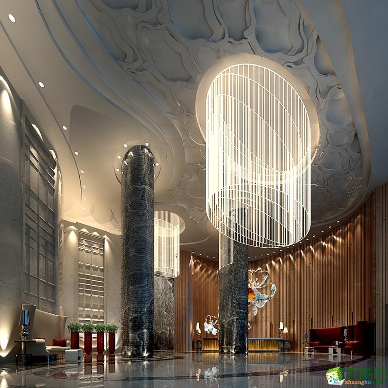 纳加摩登酒店10000平现代时尚装修案例