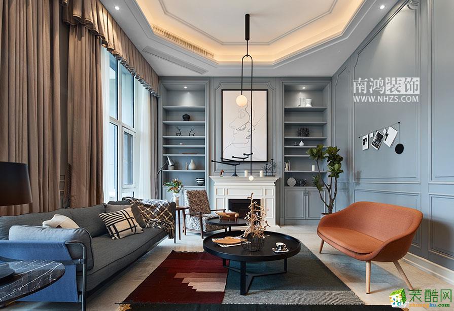 东方福邸|260方现代轻奢空间跃层设计作品