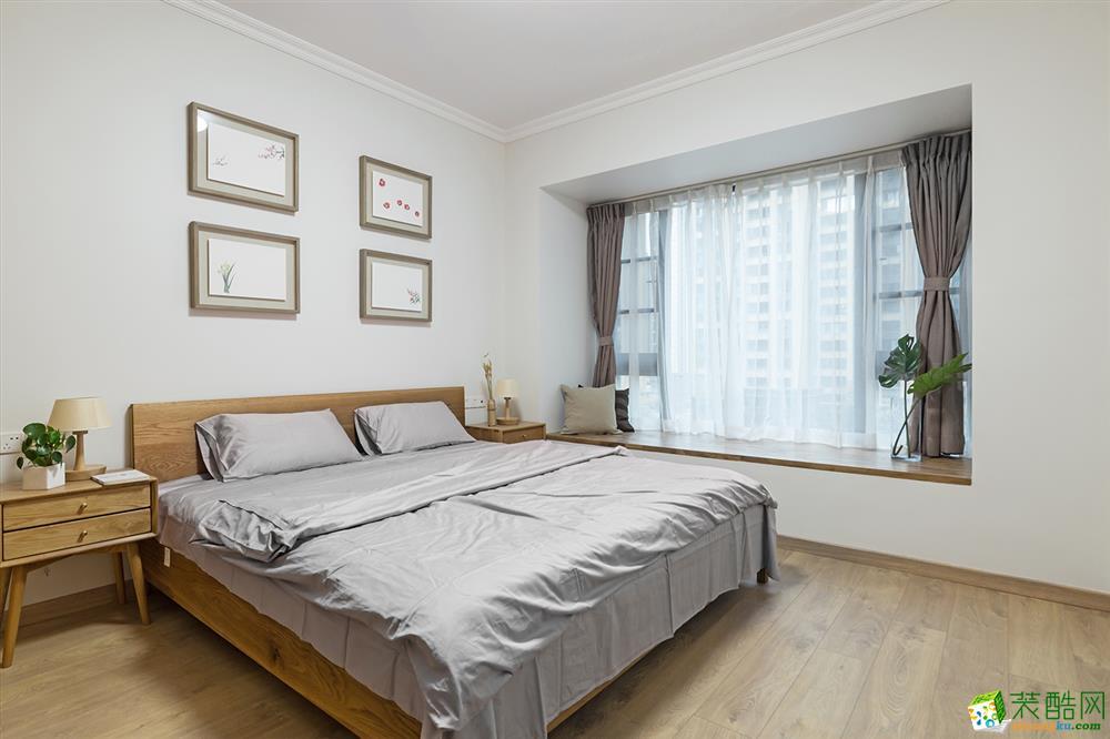 南宁145平三室两厅一卫新中式风格装修效果图