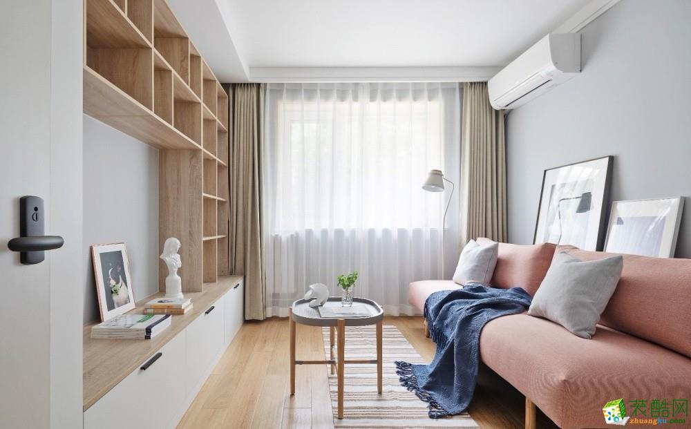 广州45�O现代简约一居室装修效果图