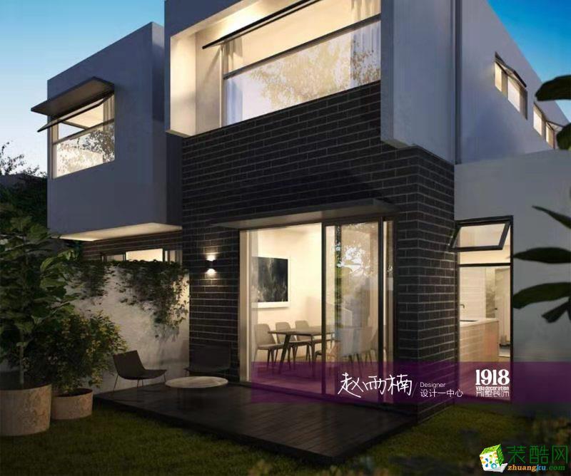 澳大利亚墨尔本•别墅1600平现代极简风格