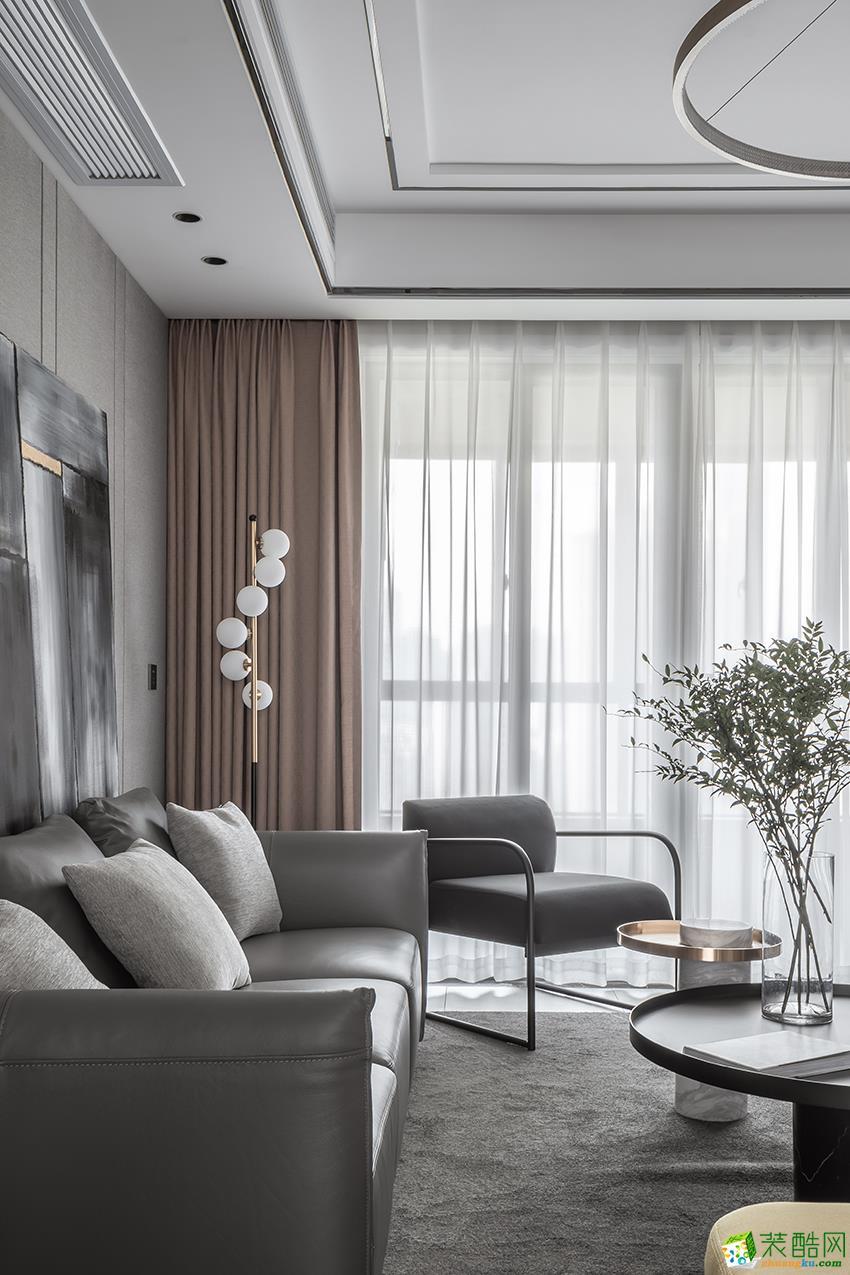 苏州97平现代风两室两厅一卫设计效果图
