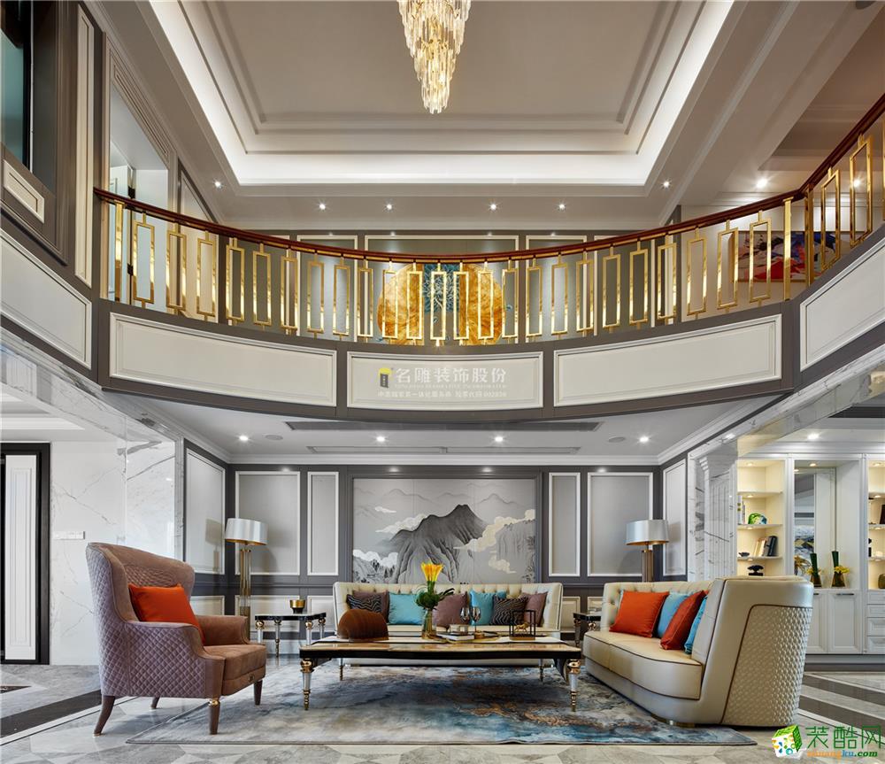 深圳纯水岸-欧式风格-360�O五居室-全包350万