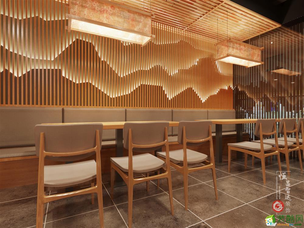 太原300平米餐廳裝修效果圖