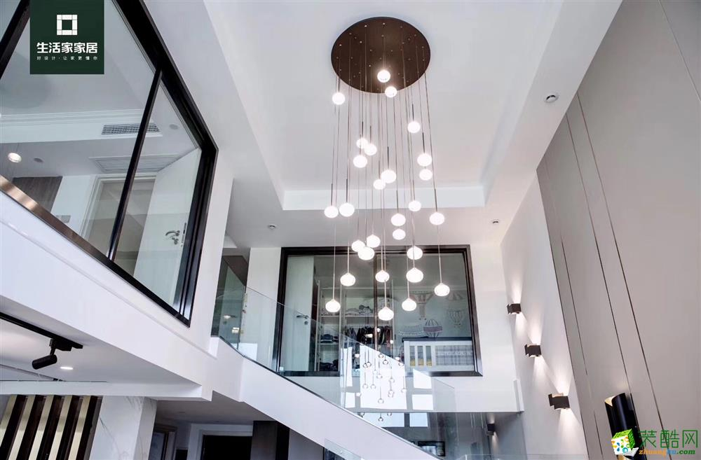 88平LOFT_現代風格-躍層住宅