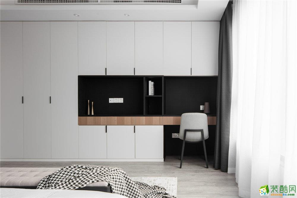南山维拉98平三室一厅现代风格设计效果图