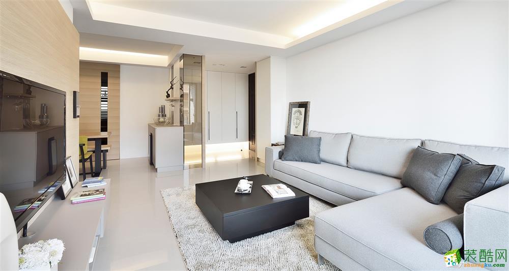 奥园玖俪湾127平米现代风格四室两厅装修装修效果图片