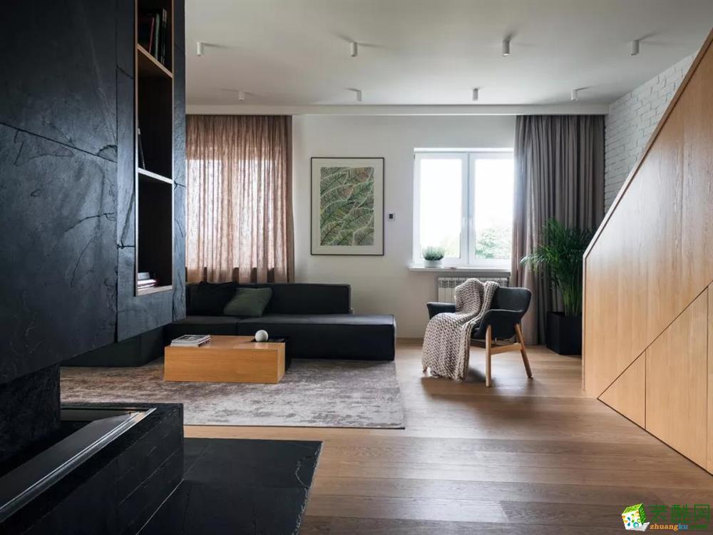 重庆160平米现代风格四室两厅装修效果图片