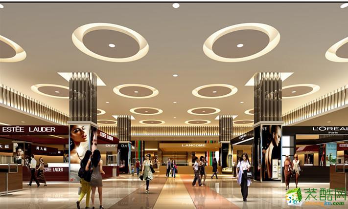 南昌騰坤裝飾-15000平現代商場裝修效果圖