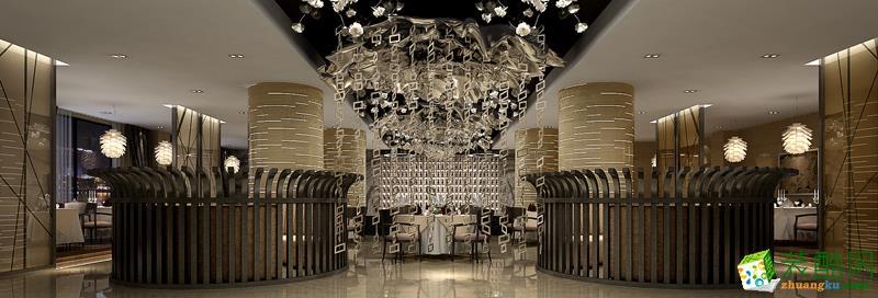 南昌騰坤裝飾-3000平現代高端酒店裝修案例