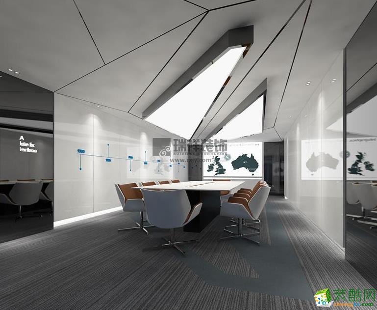 济南600平米展厅装修效果图