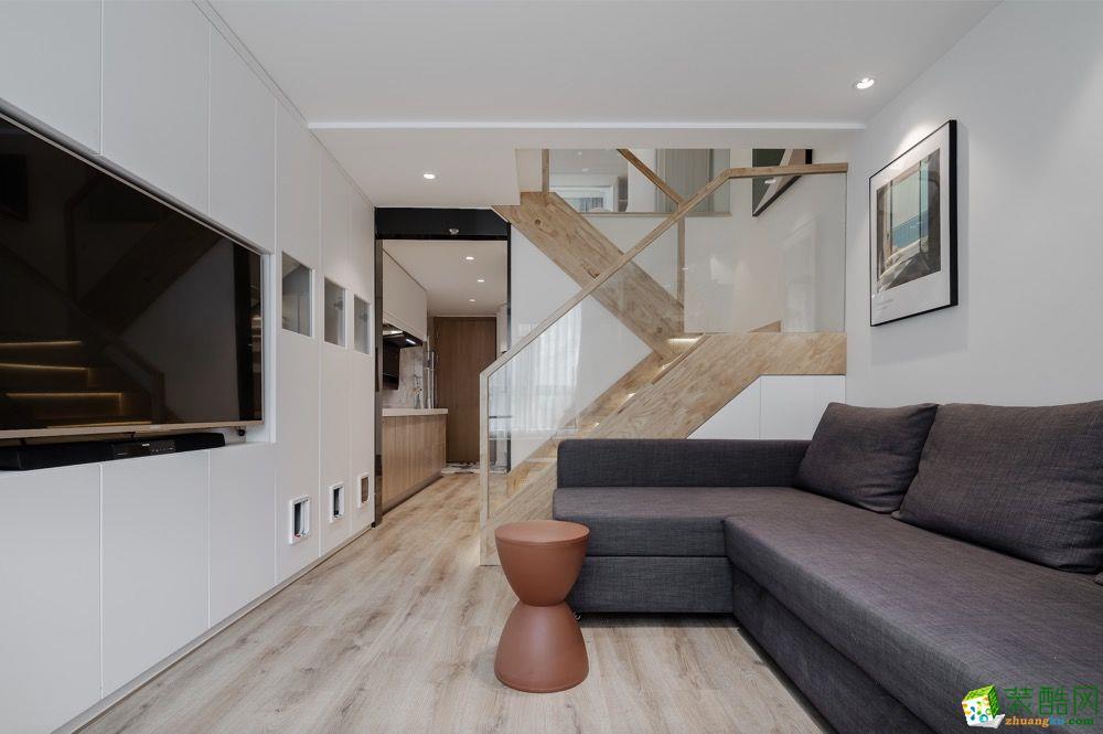 从房子变成家,35平小户型充满了细节生趣——旧房翻新
