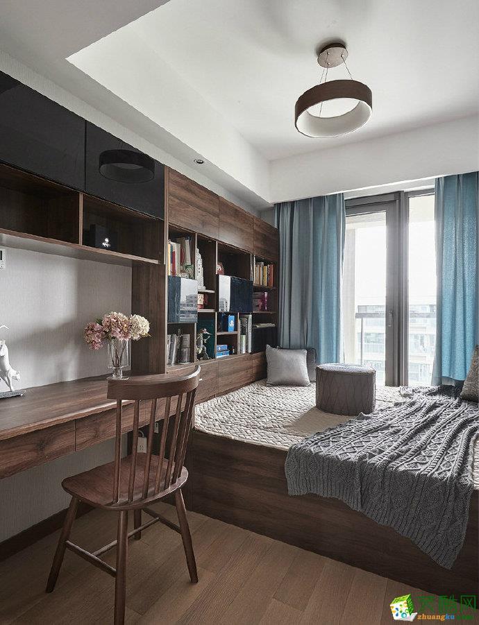 85平米搭风格家居装修效果图片