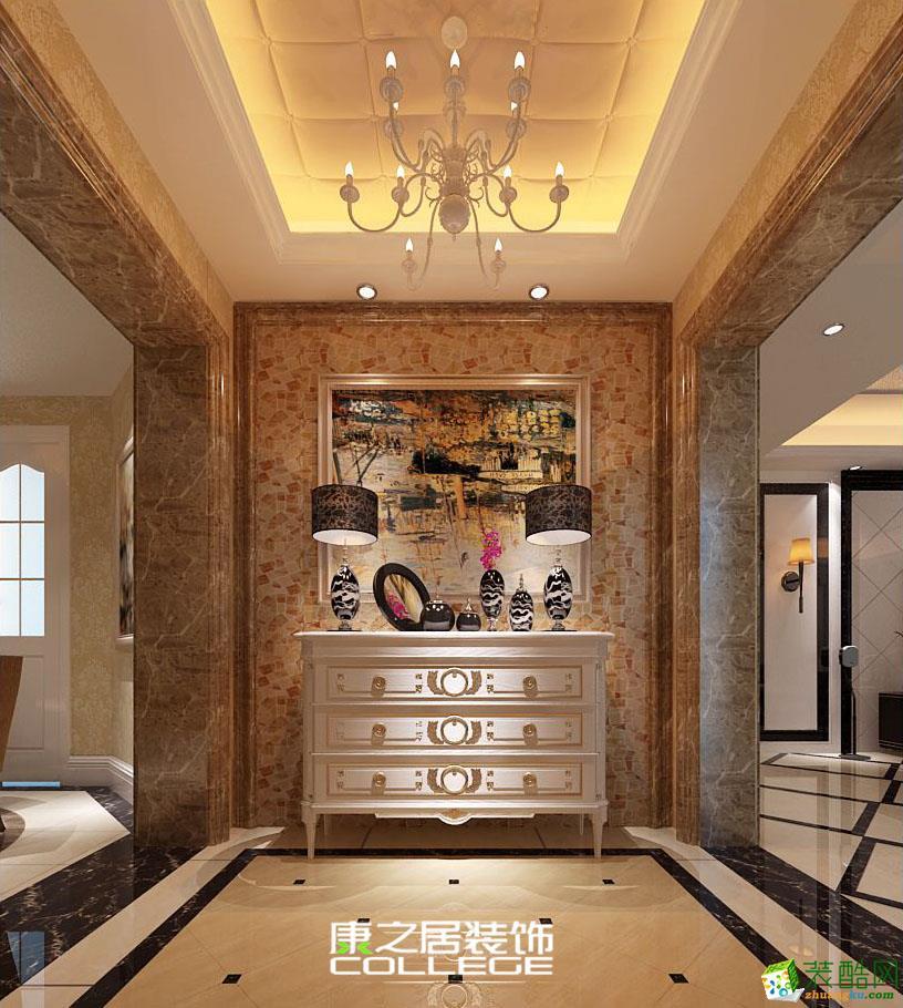 中兴和园现代新古典风格三房装是家装设计布局装修案例效果图