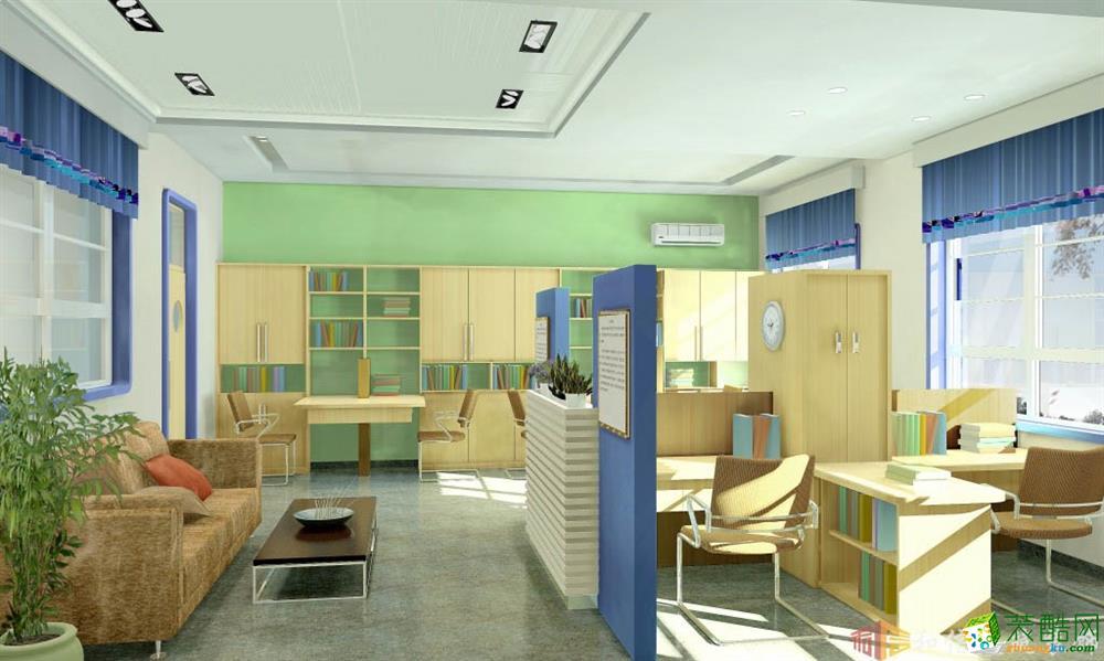 成都東城根小學4000平米裝修效果圖片