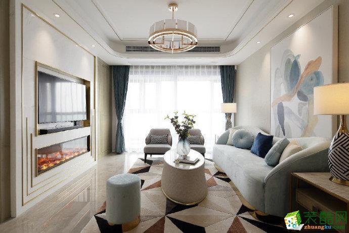 重慶90平米簡約風格兩居室裝修案例圖片