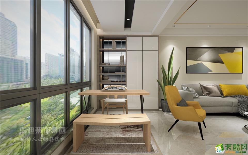 文一塘溪津门三室两厅两卫中式风格设计作品