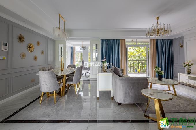 同景国际3房|现代美式风格装修