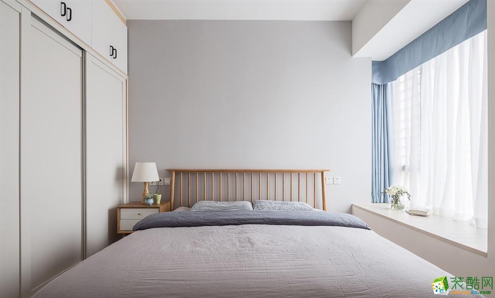 温州93平三室一厅一卫北欧风格装修效果图