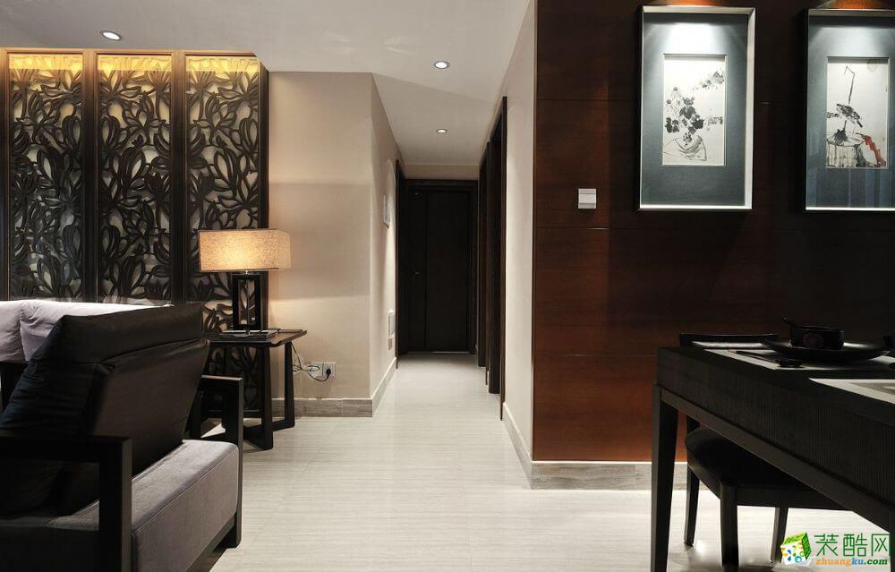 乌市140平米东南亚风格三居室装修案例图片