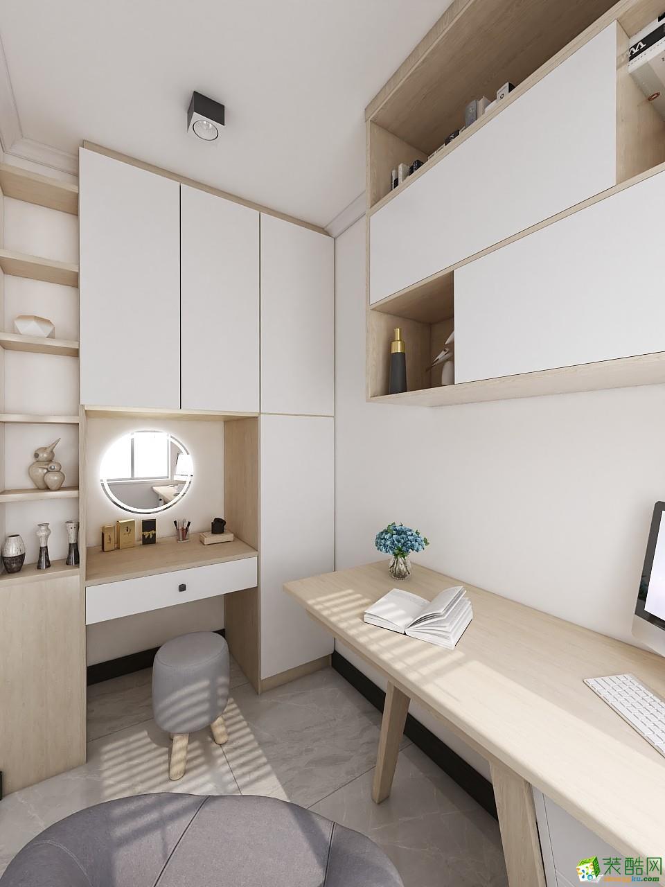 广州120�O北欧三居室装修效果图