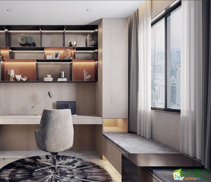 广州189�O现代简约四居室装修效果图