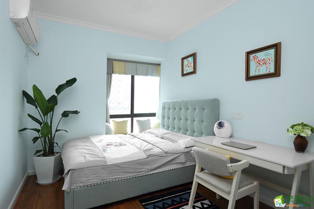 龙湖春森彼岸美式设计案例-赛区国际家居