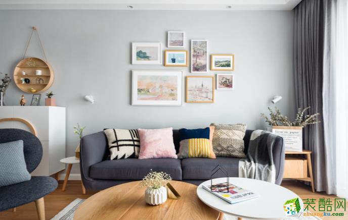 万州99平三室北欧风格装修效果图-交换空间装饰