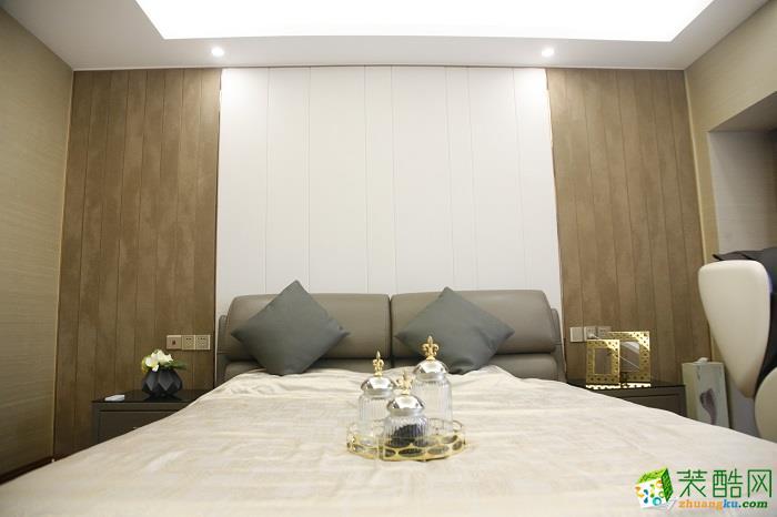 89平米现代风格三居室装修案例图