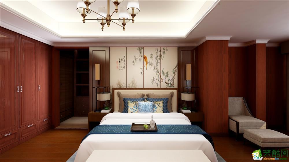 150平米三室一厅一卫一厨中式风格案例效果图
