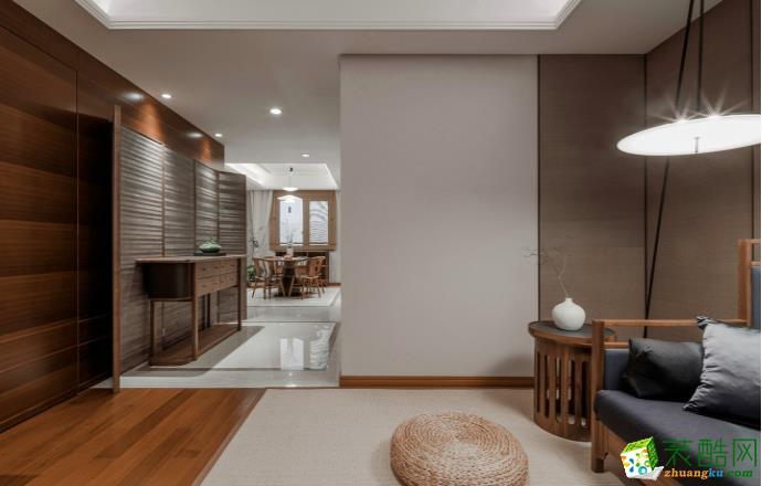 九江115㎡三室现代风格装修效果图-源典装饰